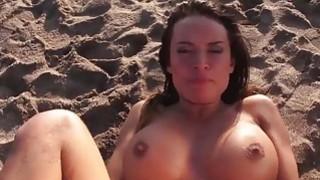 LECHE 69 Franceska Jaimes squirting on a public be
