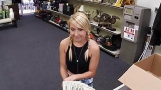 Hot Blonde needs cash for vet bills she let me fuck her