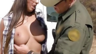 Sexy Smuggler Pays The Price For Getting Caught At The Border Crossing