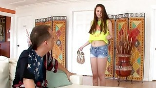 Big Tits Teen Fucks Her Stepdad And It Was Hot