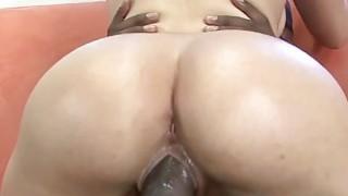 Kirra Lynne is pounding a big black cock