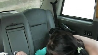 Long haired amateur passenger gets nailed by fake driver