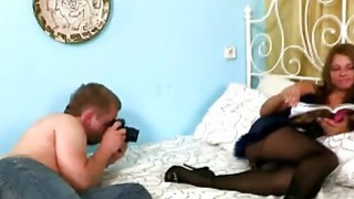 Horny Latina bitch Lupe Burnett gets ripped as stud rocks her world