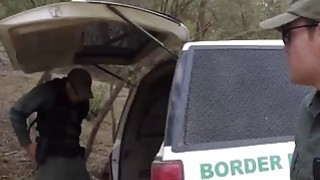 Pale brunette teen banged outdoor in van by big dick