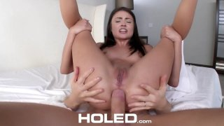Cute Adria Rae gets punished for her bad grades